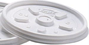 Lid for White Plolystyrene Cup