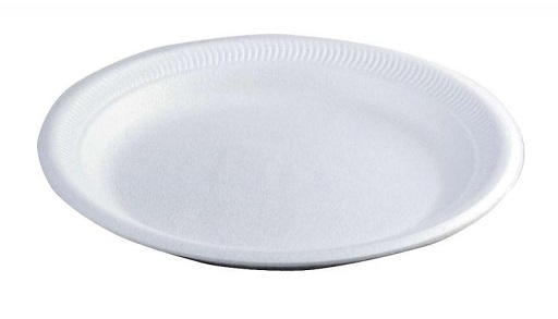 "WHITE FOAM PLATES  6"" diameter - 15cm approx. (pack of 100)"
