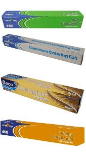 Cling Film, Foil, Greaseproof, Parchment