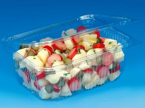 RECTANGLE SALAD BOX - 600cc (pack of 25)
