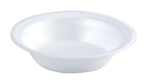 WHITE FOAM BOWLS - 8oz (pack of 100)