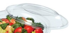 LID FOR THE FESTIPACK SL2200C CLEAR ROUND SALAD BOWL