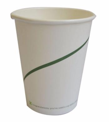 10 oz Biodegradable Paper Cups (Pack of 50)
